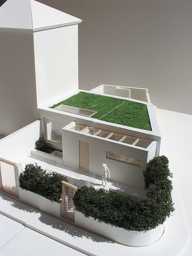 Foam Board House Google Sogning Arquitetura Casas Maquete