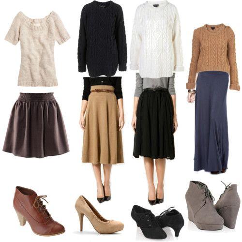 your fall wardrobe ;)