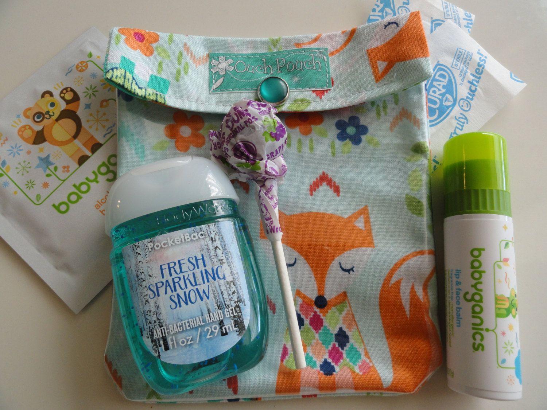 Fox Ouch Pouch Clear First Aid Organizer for Diaper Bag Purse Car ...