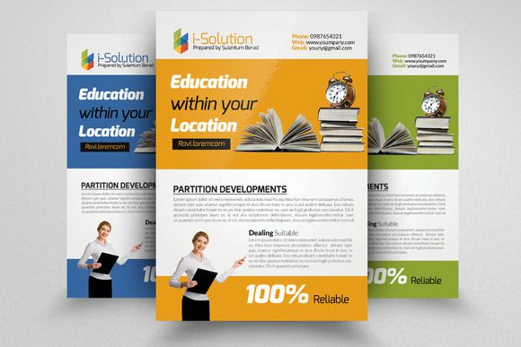 Education Flyer Template Creativework247 Templates Templates