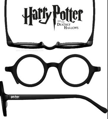 """Inspiration depart -""""lunettes"""" invite vous pourriez faire une affiche de film faux soulignant spécifications classiques de Harry Potter. Relevez le défi de trouver une tournure intéressante, un jeu de mots, un moyen d'aller au-delà de l'évidence."""