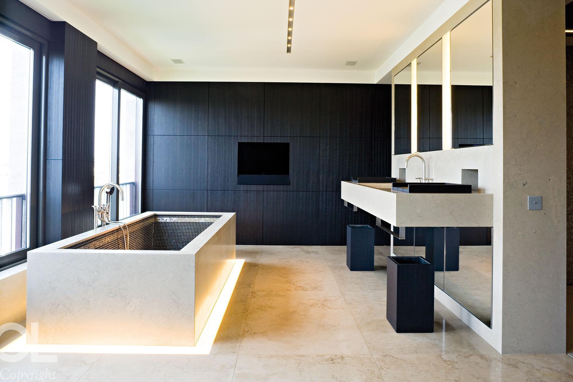 un projet d 39 architecture d 39 int rieur par h l ne et olivier. Black Bedroom Furniture Sets. Home Design Ideas