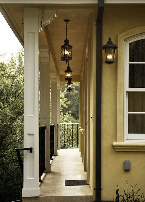 outdoor house light fixtures for a yellow house - Google Search ...