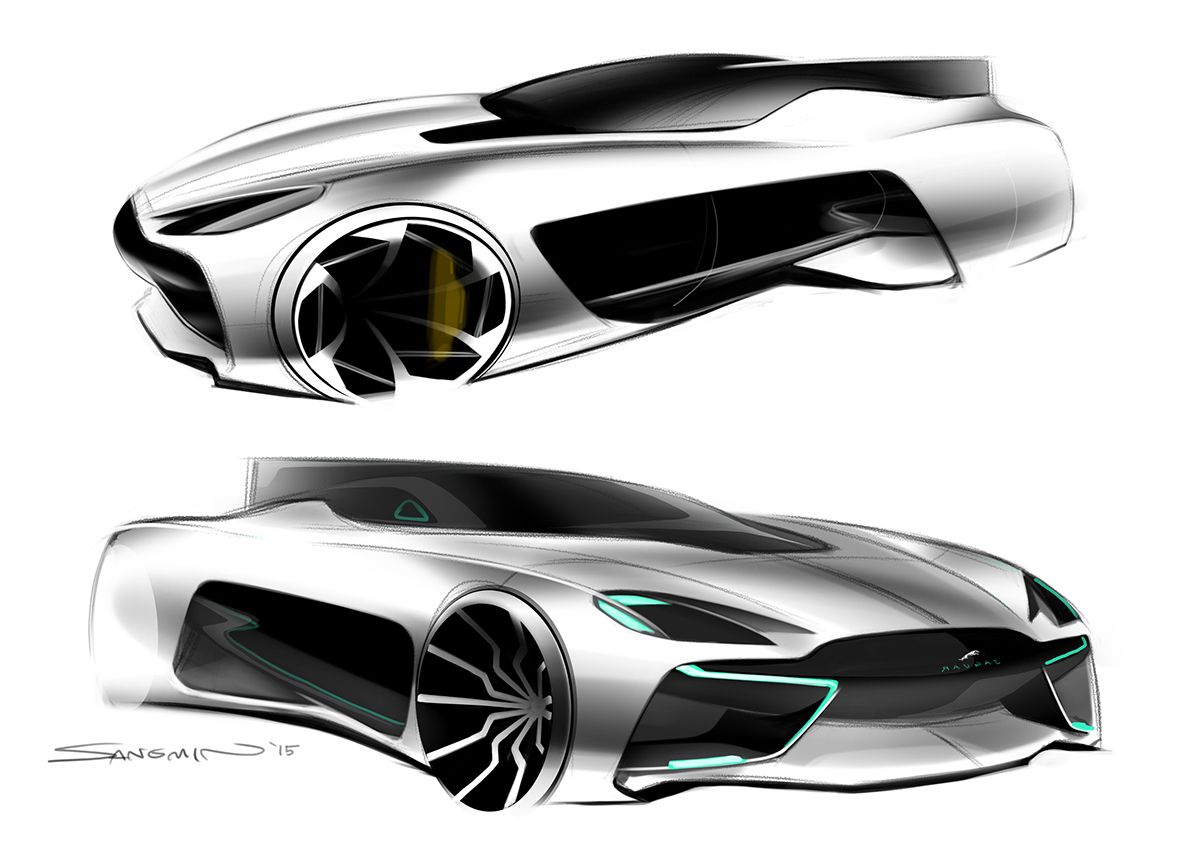 2025 Jaguar 2 Seater Sports Car On Behance