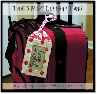 Luggage Tags! Make your own!