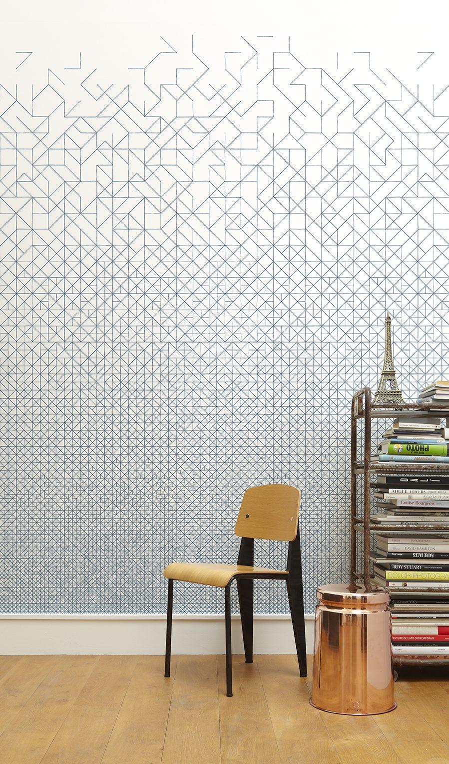 MODULAR wallpaper by MINAKANILAB www.minakanilab.com Retailer : Maison M - Paris #maisonM #minakani #wallpaper