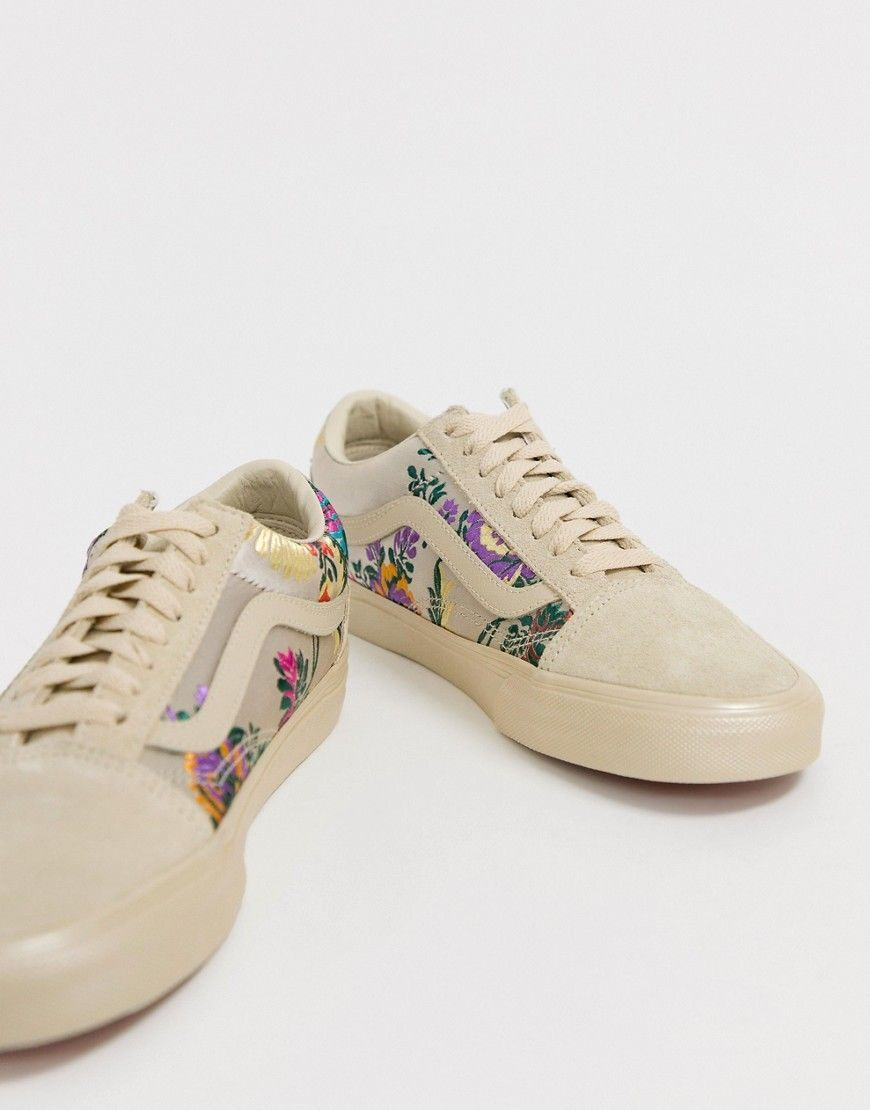 Vans Women s Old Skool Festival Satin Floral Sneakers Shoes Brand New   109.99  womens  sneakers 1a70c93fafe
