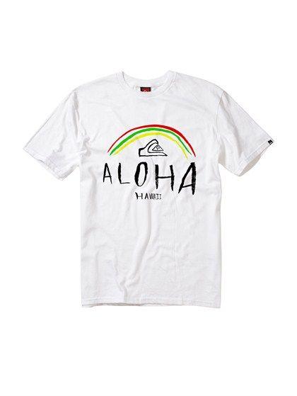 Whtaloha T Shirt By Quiksilver