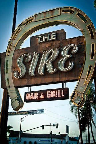 wacky tacky: Signs of the Times: The Sire Bar & Grill