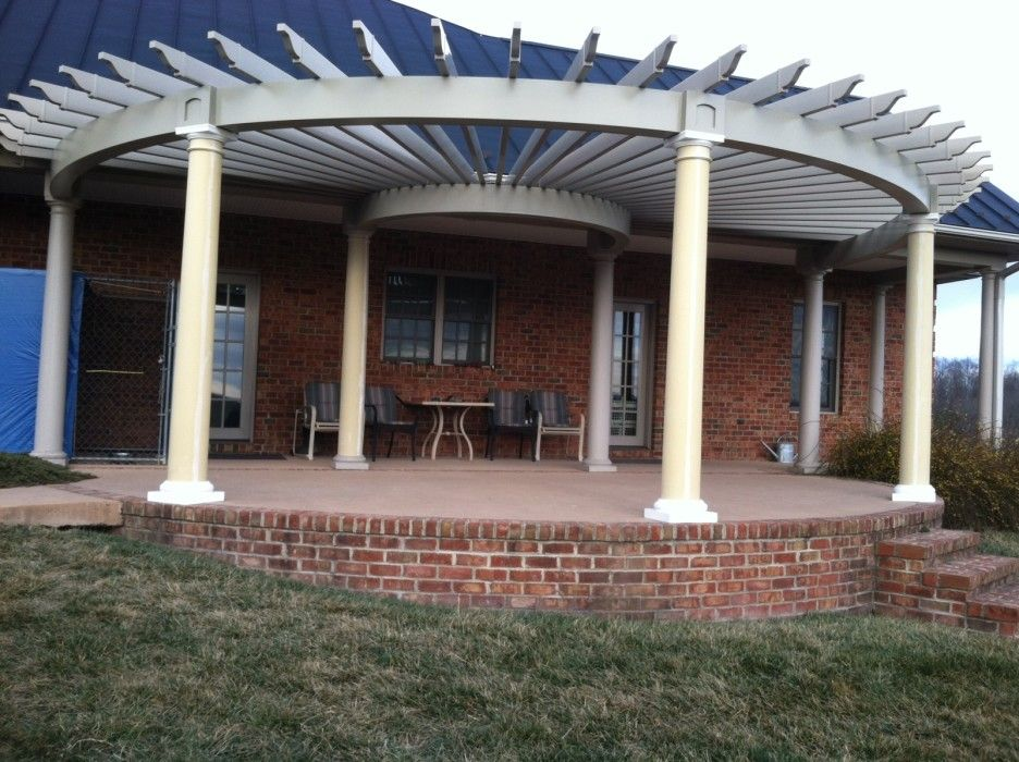 Good 25 Single Wide Mobile Home Covered Porch Design Ideas. A Pergola . Part 9