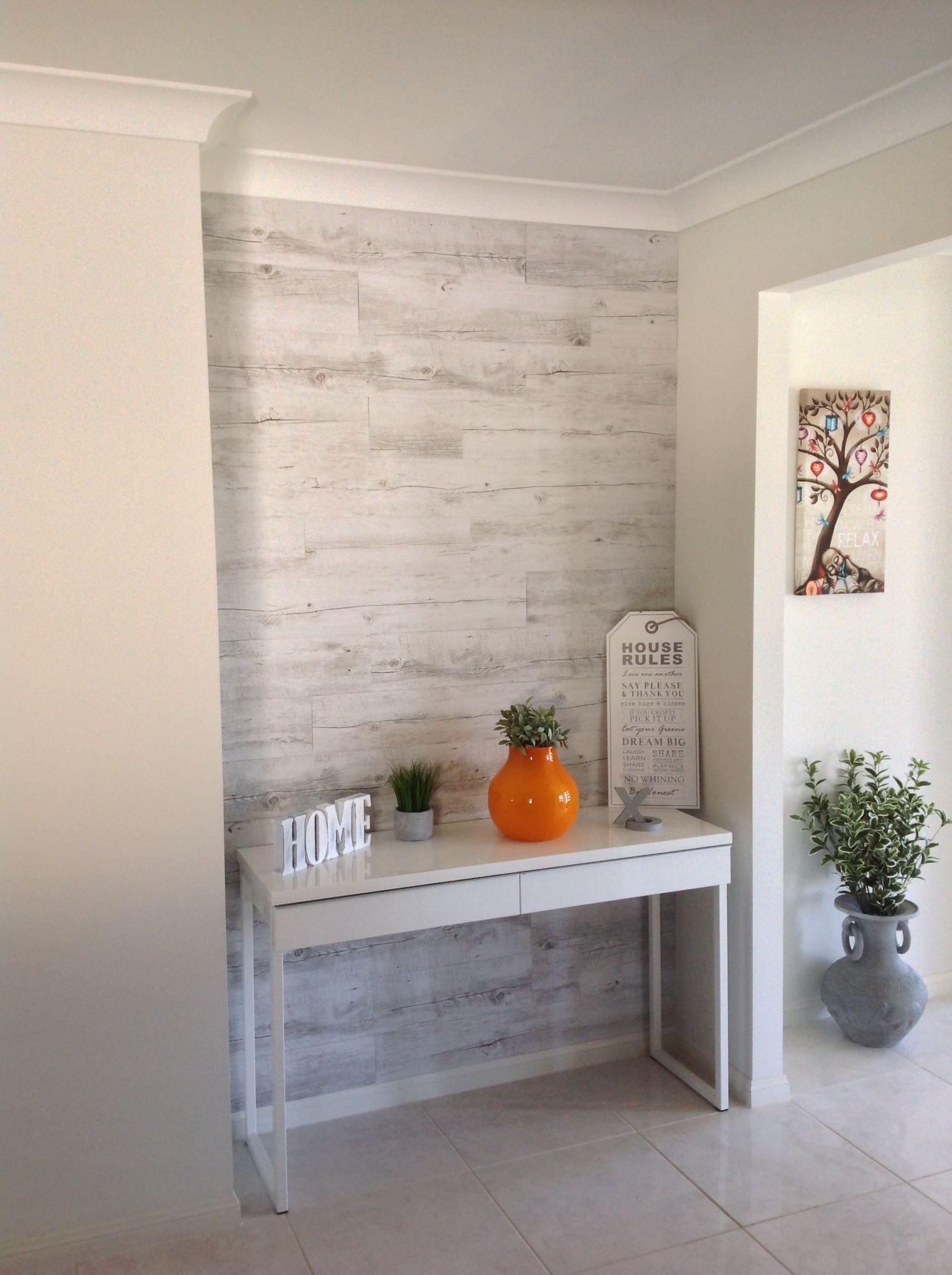 Vinyl planks on wall Furniture & Home ideas Pinterest