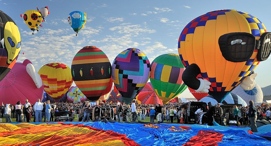 Balloon Fiestas New Mexico Tourism Hot Air Balloon