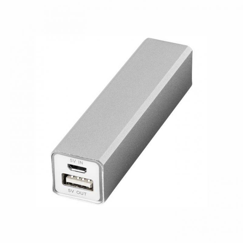 Powerbank aluminiu VOLT 2200 mAh http://www.corporatepromo.ro/ceasuri-electronice/powerbank-aluminiu-volt-2200-mah.html