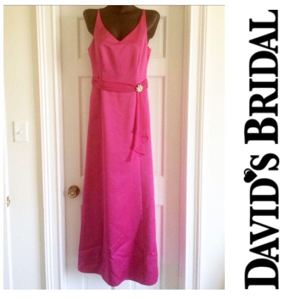 David\'S Bridal Bridesmaid Prom Dress 8