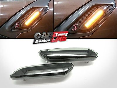Smoke Led Turn Signal Lights Side Marker Lamp For Mini Cooper Countryman Paceman