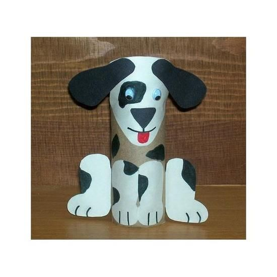 This is so cute. A nice decoration for your kids to make. #dog #doggy #crafts