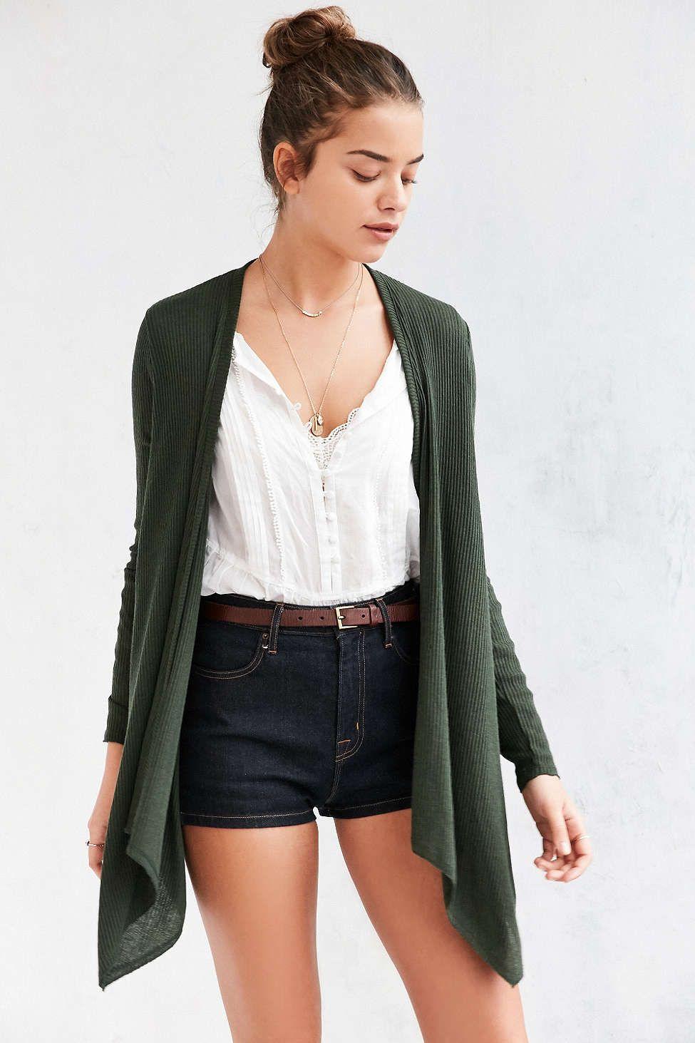 Kimchi Blue Emmie Waterfall Cardigan | Clothing | Pinterest ...