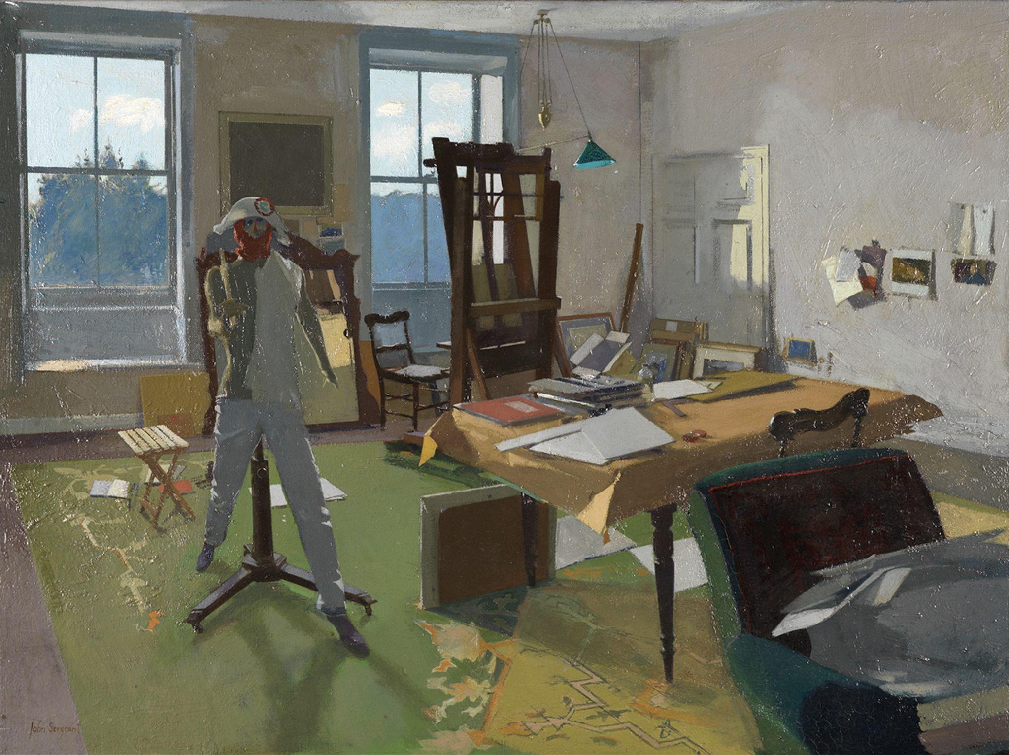 John Sergeant The Artist S Studio With Images John Ward