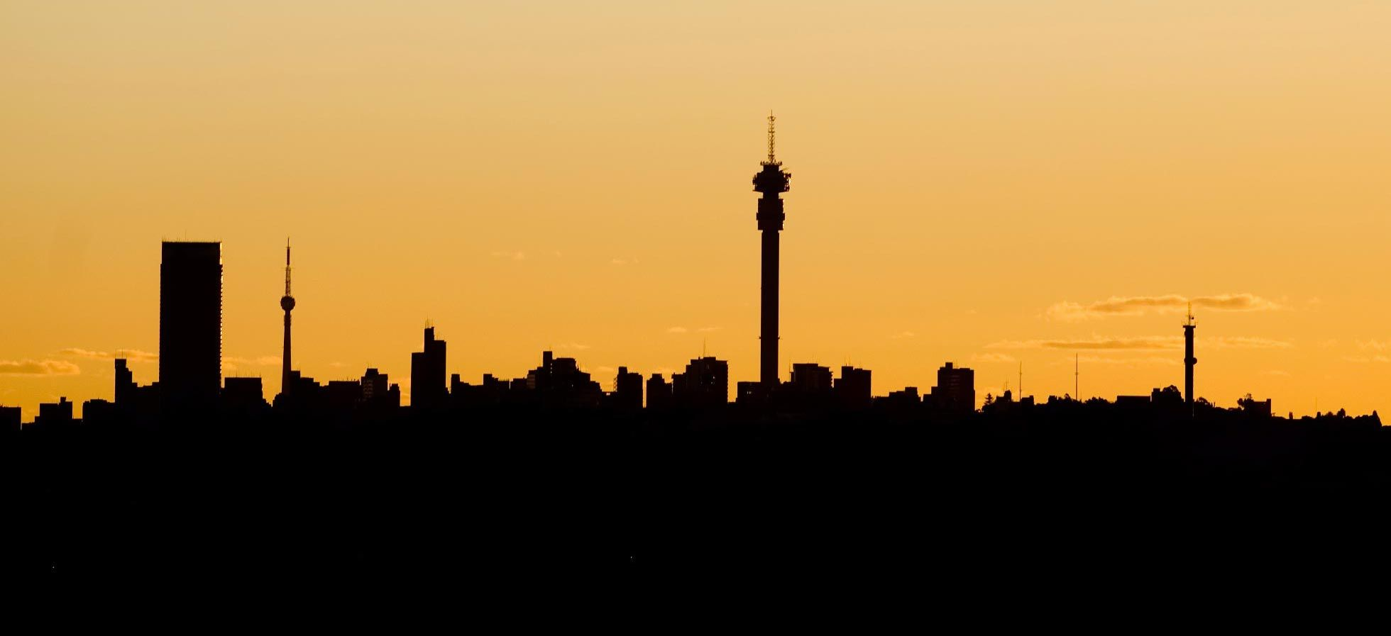 What To See In Johannesburg The Winston Hotel Johannesburg Skyline Johannesburg City Skyline Silhouette