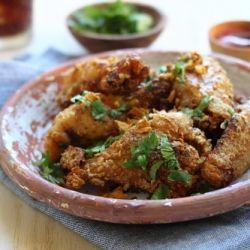 Pok Pok wings recipe or Vietnamese fish sauce wings.