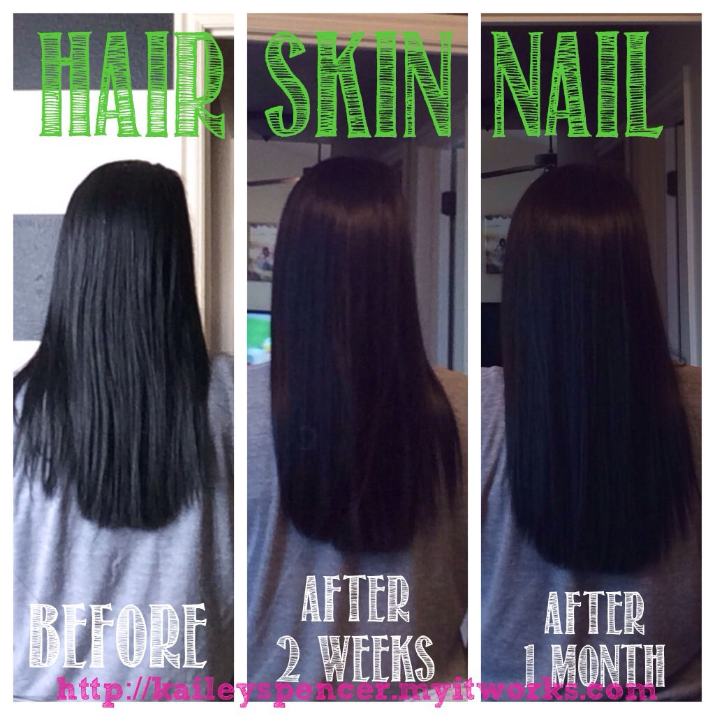 It Works! Hair, Skin, Nail supplement http://kaileyspencer.myitworks ...