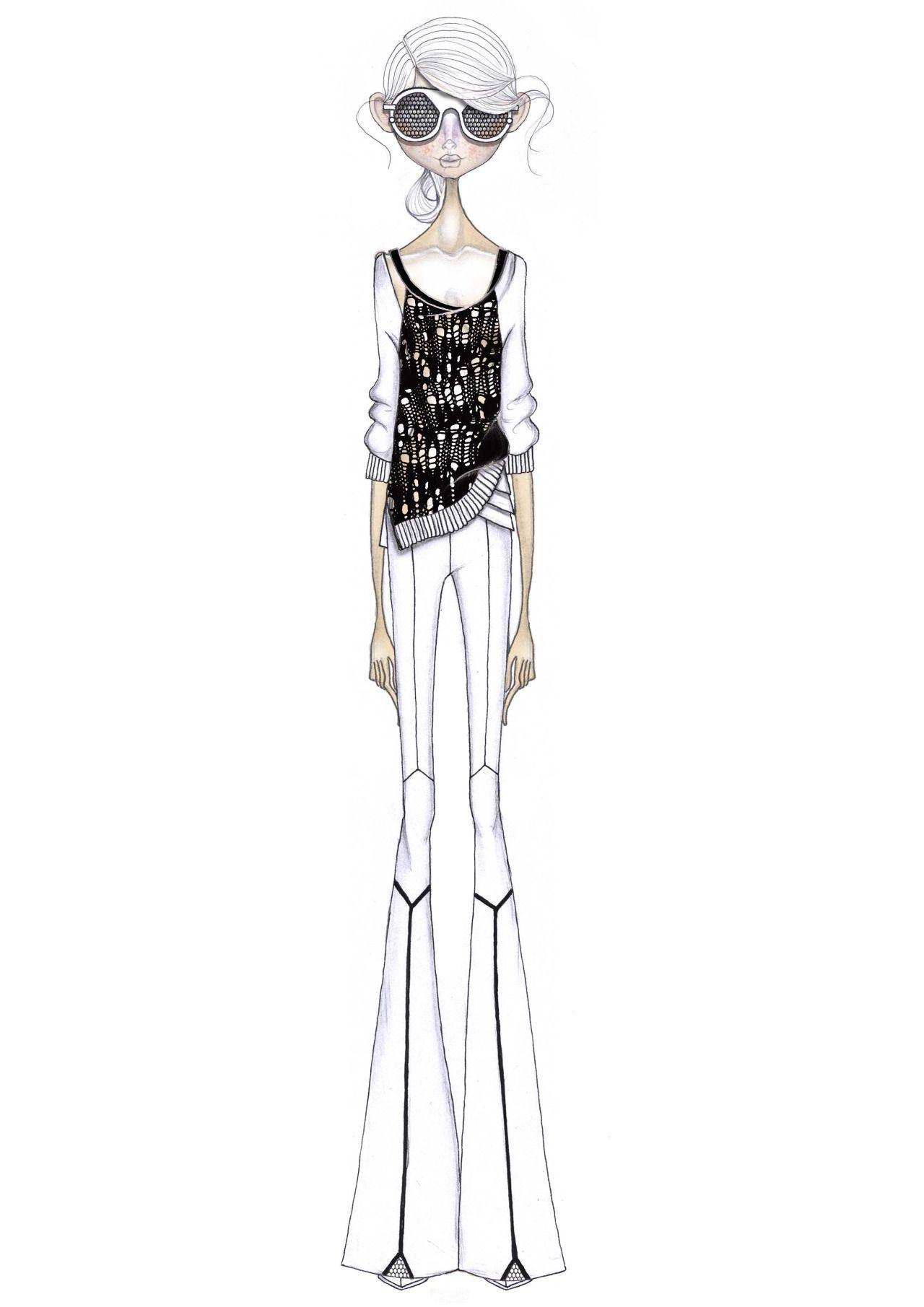 Fashion illustration // Leandro Benites   Figurine   Pinterest ...