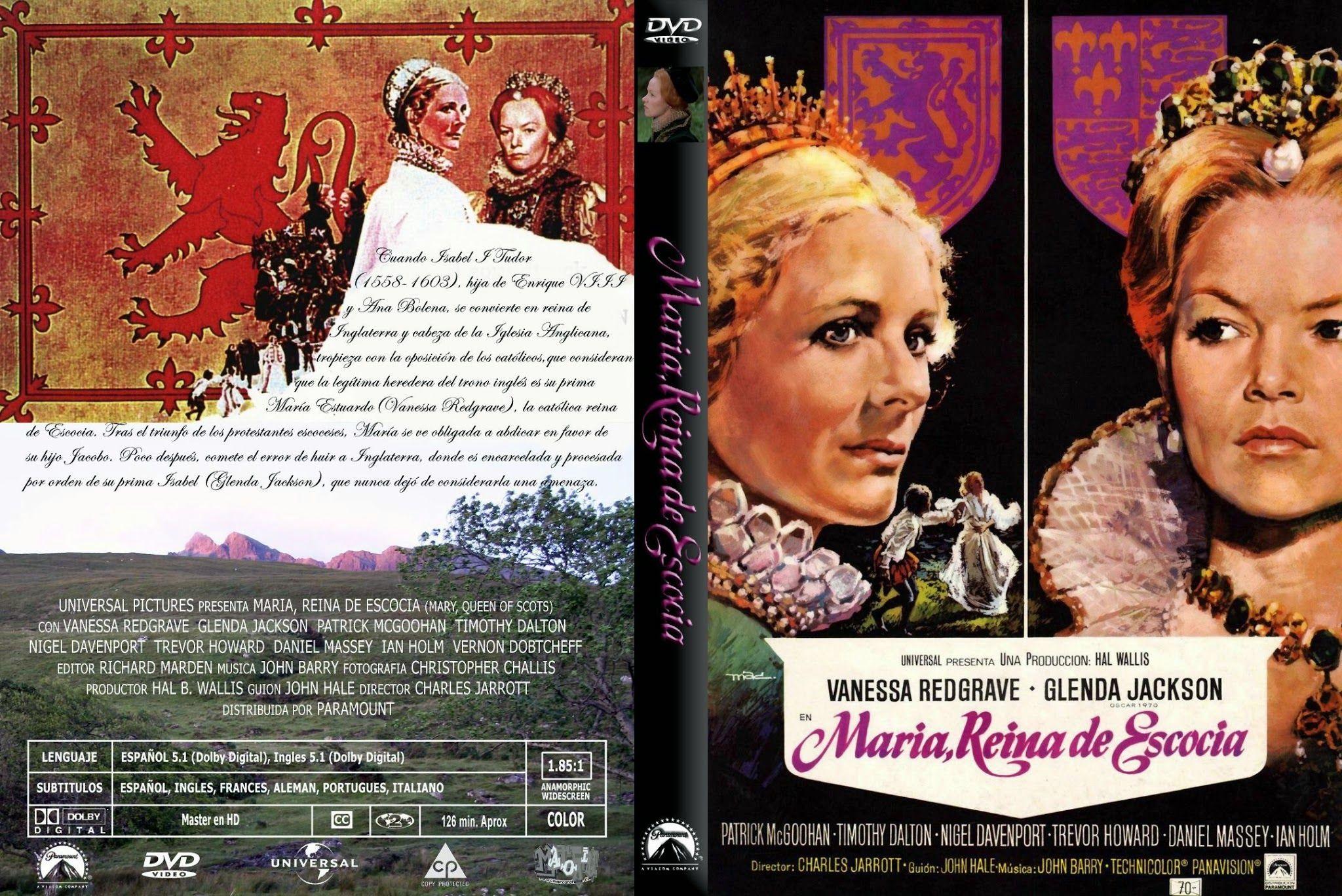 Maria, Reina de Escocia (1971)(Mary, Queen of Scots), es un drama hitórico dirigido por Charles Jarrott con Vanessa Redgrave y Glenda Jackson encabezando e