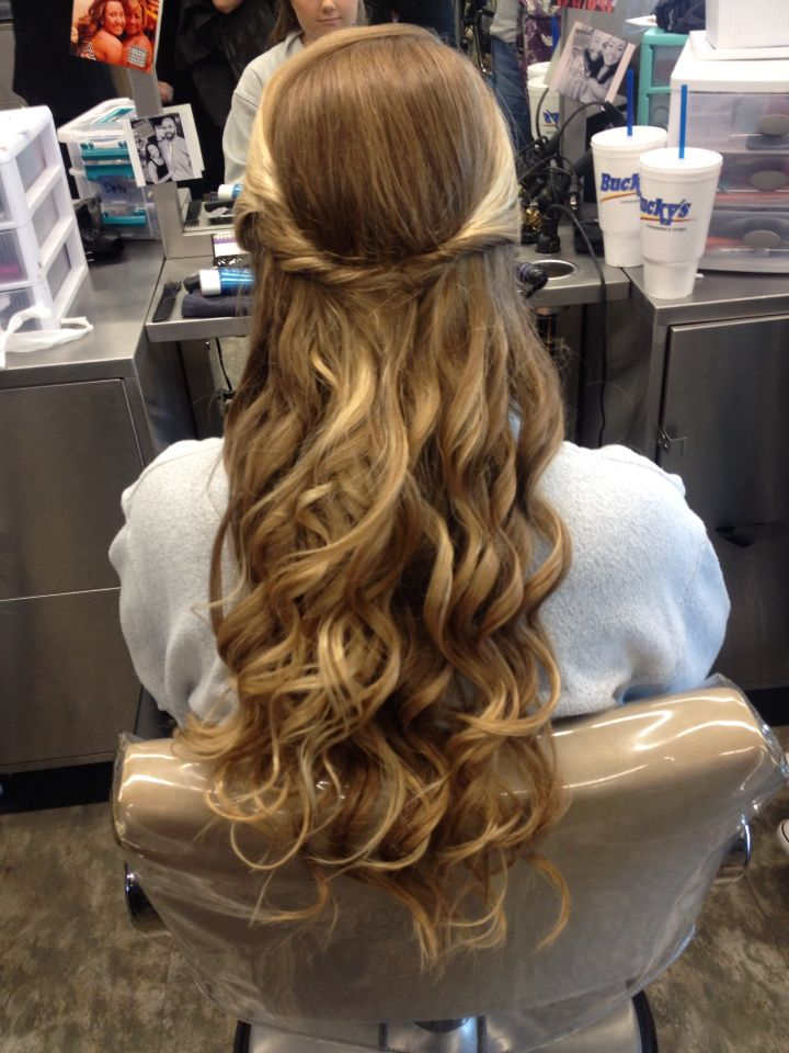 Half up prom do | Formal hairstyles, Hair styles, Long ...