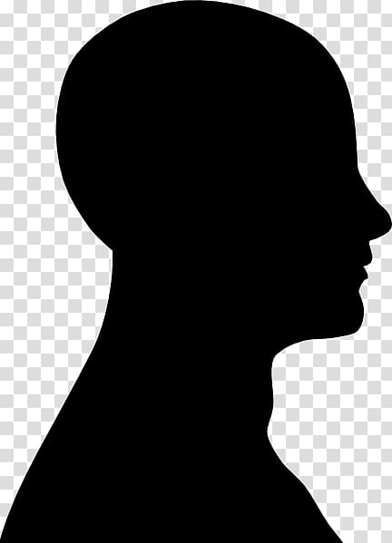Human Head Silhouette Face Face Outline Transparent Background Png Clipart Silhouette Face Silhouette Drawing Face Outline