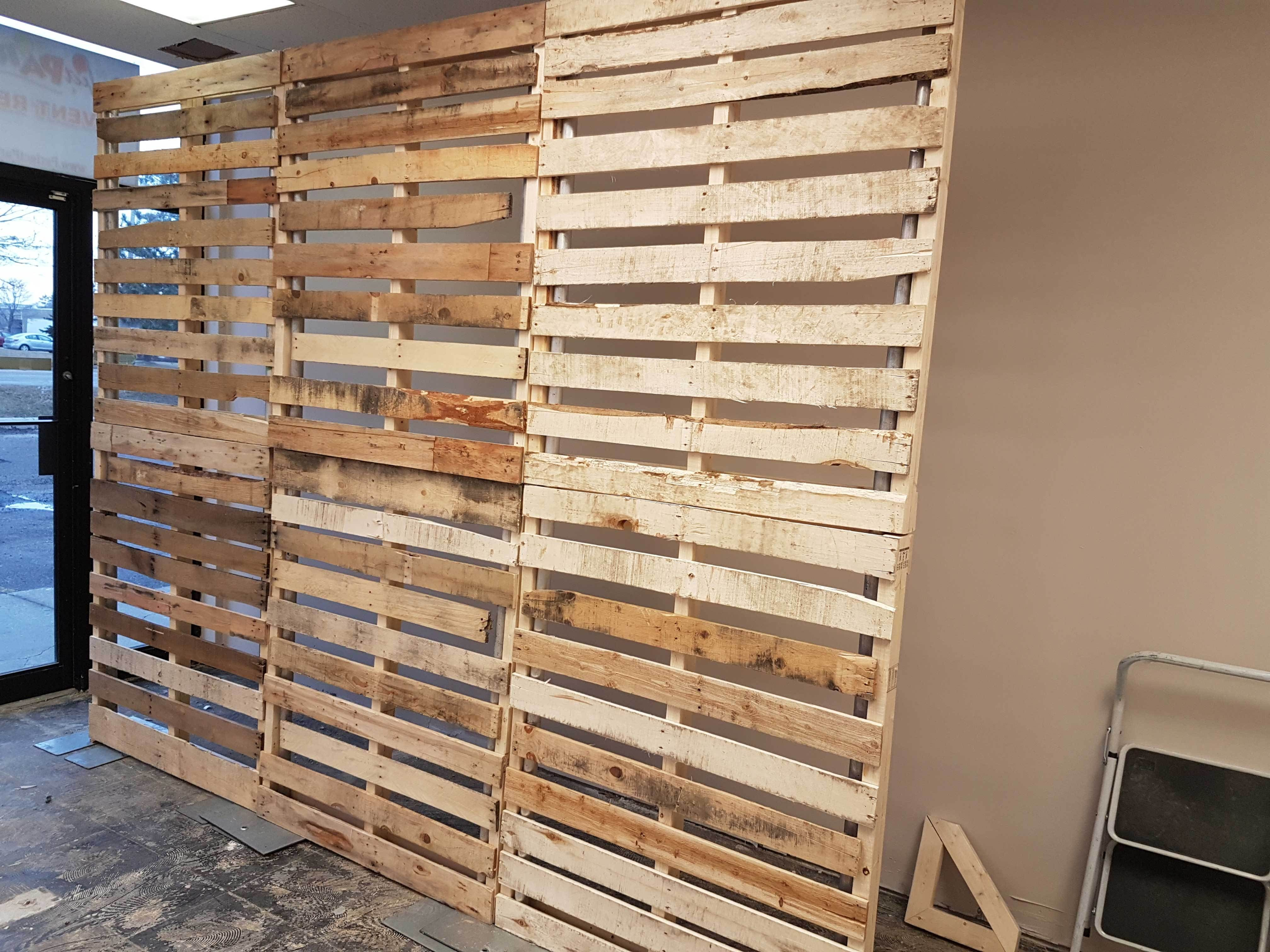 Pallet Wall Backdrop Wall Backdrops Pallet Backdrop Diy Pallet