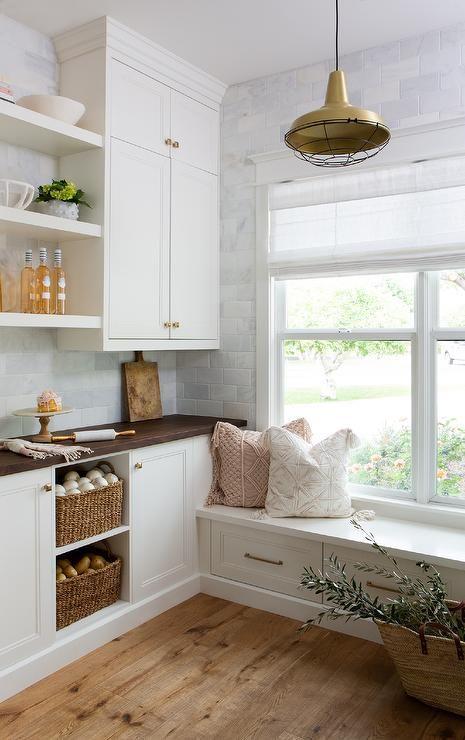 50 Favorites For Friday White Floating Shelves Kitchen Design Kitchen Renovation