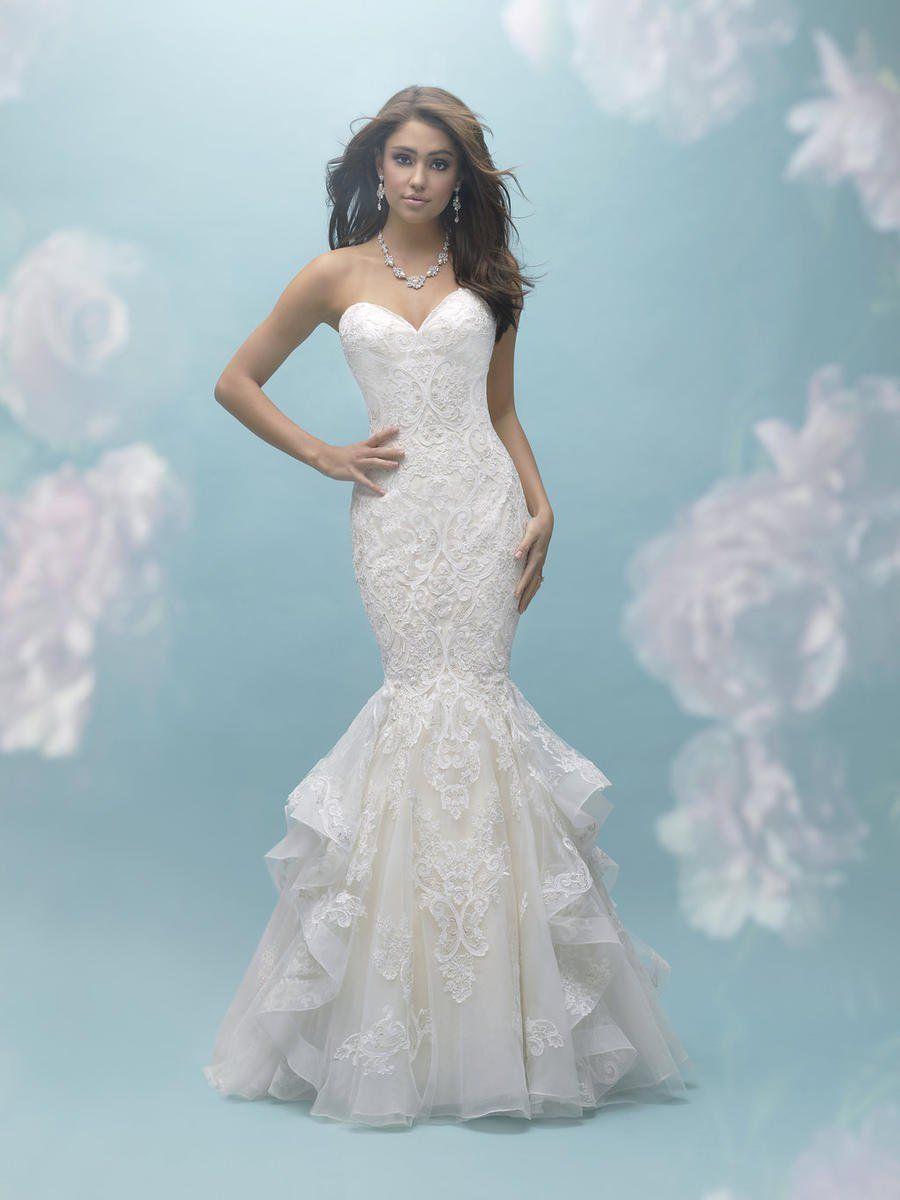 Allure Bridals Dress 9456 | Terry Costa | Allure wedding ...