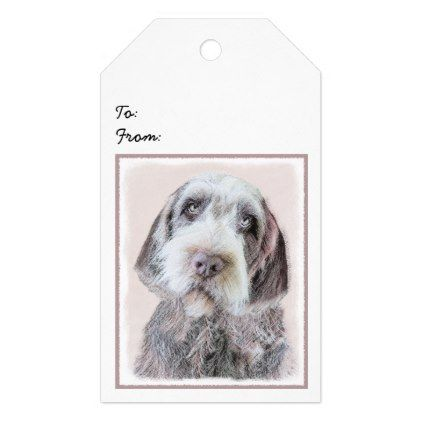 Wirehaired Pointing Griffon Gift Tags - diy cyo customize ...