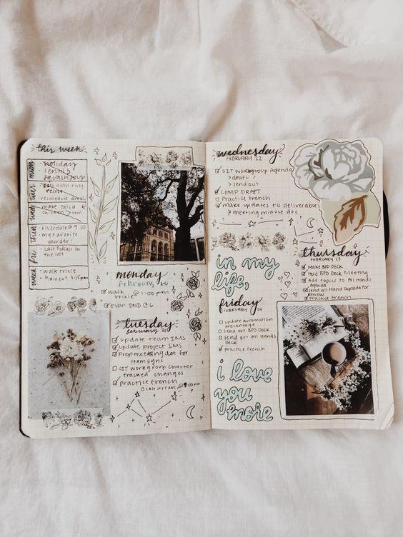 Bullet journal: aprenda como criar o diário mais fofo do mundo #scrapbook