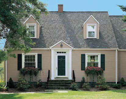 Cape cod home style exterior cape cod pinterest cod for Small cape cod house