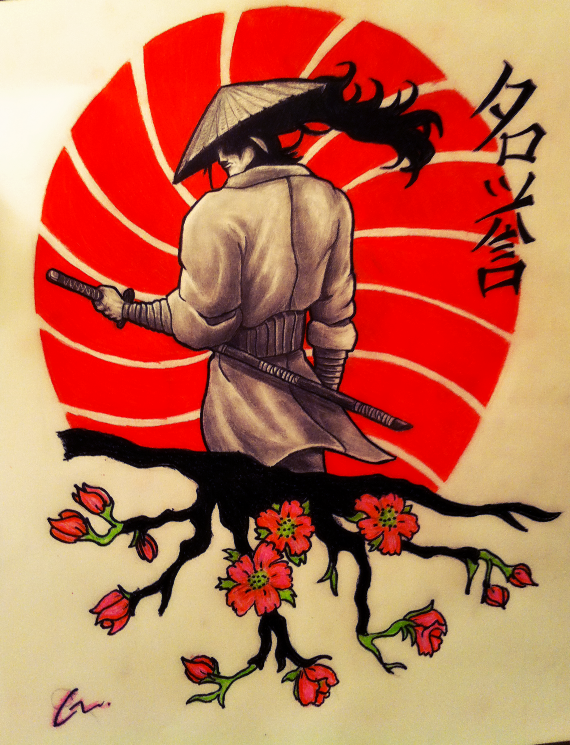 Samurai Tattoo Design By MrMattFl On DeviantArt
