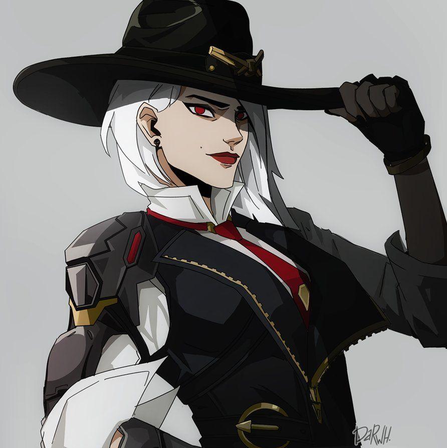 Ashe [Overwatch] by darwh Воительницы, Лига легенд