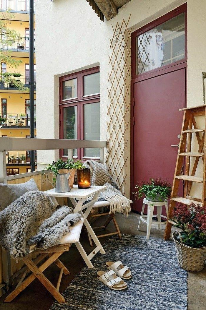 1001 Conseils Pratiques Pour Amenager Un Petit Balcon Petit
