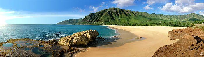 Makua Beach Oahu