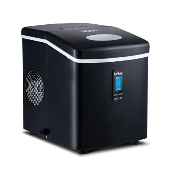 3 2l Portable Ice Cube Maker Machine Benchtop Black In 2020