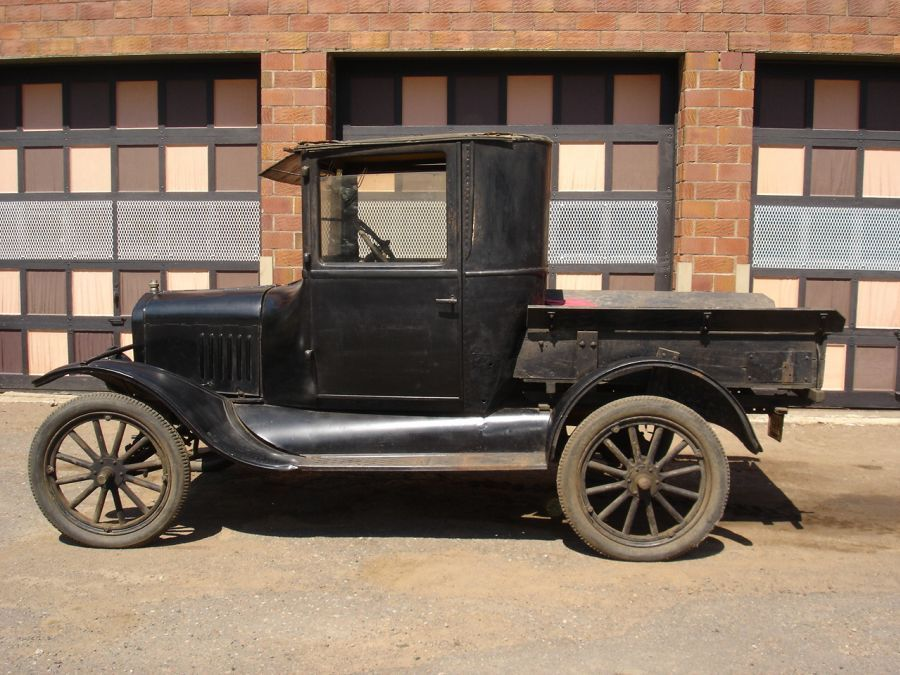 1924 Ford Model T Enclosed Cab Pickup Ford Trucks Ford Truck