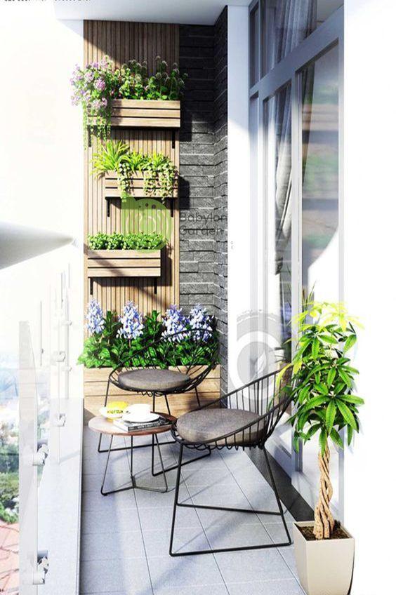 Photo of 370+ Trendy Small Balcony, Patio, Porch & Backyard Decorating Ideas with Tips #B…