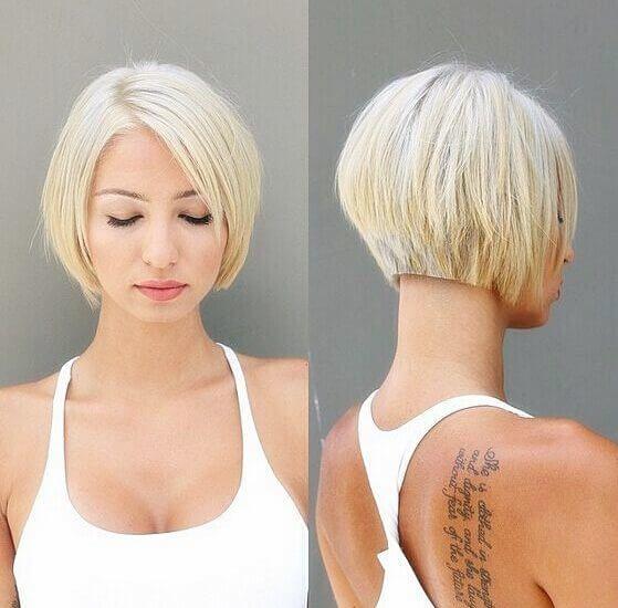 Kurze Haare Frisuren 2017 559x550 Kurze Haare Leicht Frisuren 2017