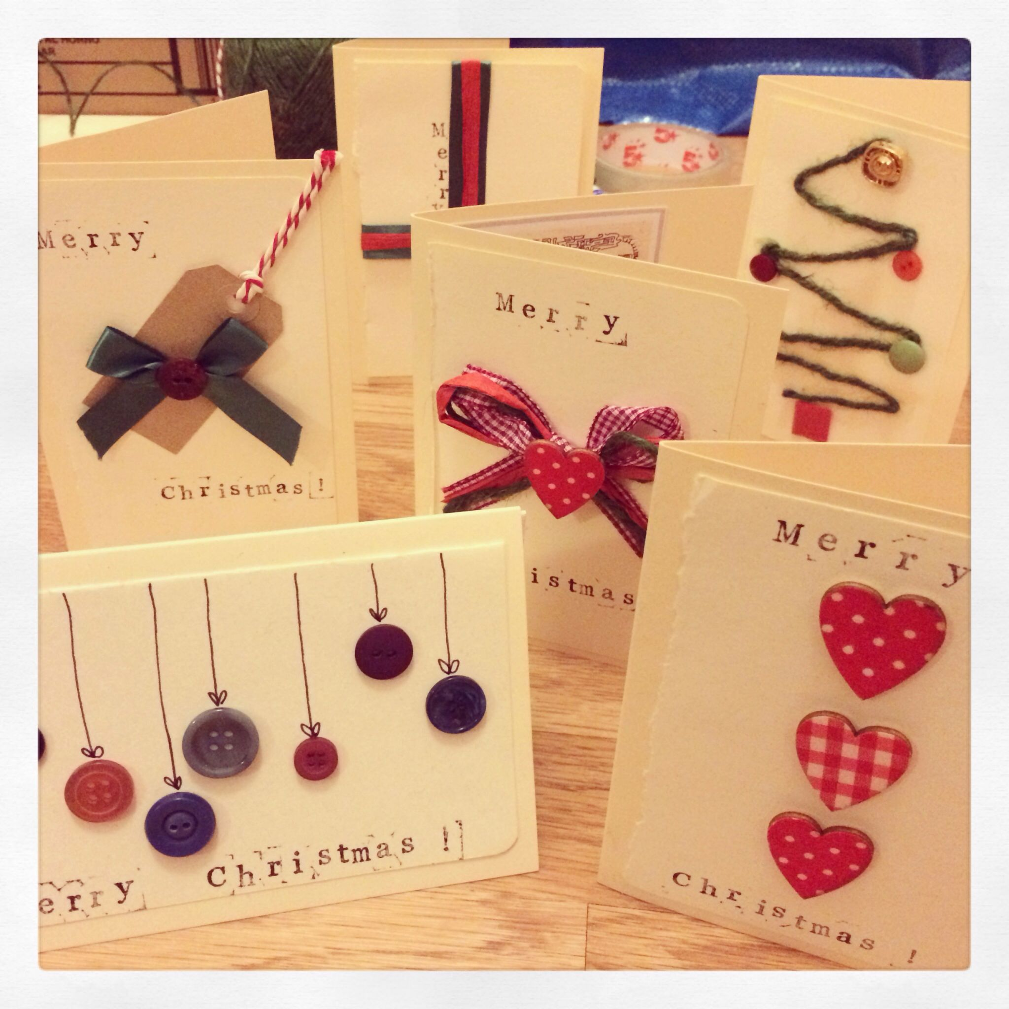 Homemade christmas cards crafts pinterest for Pinterest diy christmas cards
