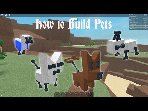 63 Lumber Tycoon 2 How To Build Pets Youtube Lumber