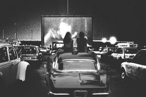 Drive in date night!!