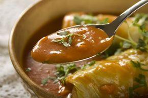 Przepis na Sos pomidorowy do gołąbków