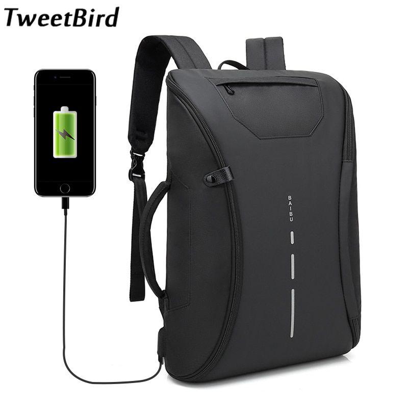Laptop Backpack Travel Business School Bag Waterproof Men 35L Large Capacity Big