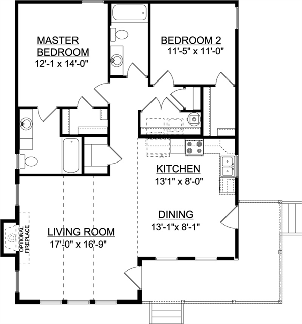 The Union A House Plans Custom Home Plans Small House Plans