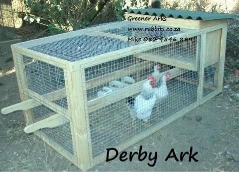 Movable Chicken Ark With Run With A Raised Nest Area That Has A Flap Door To Access Eggs Easy To Move So You Can Rotate Th Pet Accessories Find Pets Pets
